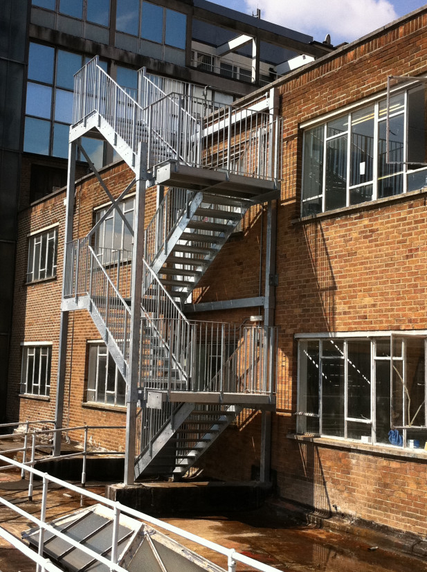 Fire Escape Staircases Morris Fabrications Ltd