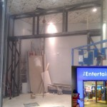 Shop front steelwork, Bluewater Entertainer