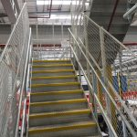 Welded wire mesh balustrade