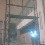 Shopfront steelwork