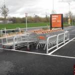 Trolley barriers