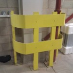 Steel vehicle protection barriers