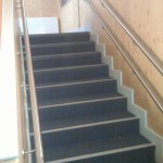Stainless steel wall rail