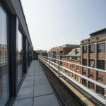 Penthouse balcony balustrade
